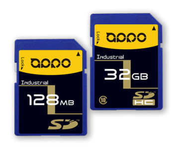 APRO Industrial SLC SD / SDHC Memory Card 128Mb - 32Gb SLC THEMIS-A Series