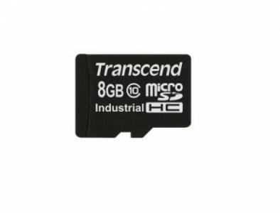 Transcend microSDHC10I SDHC flash card 8 Gb