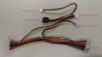 Кабель ATX 24-pin 30см