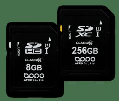 APRO MLC SDHC / SDXC Memory Card 8Gb - 256Gb MLC PHANES-F Series