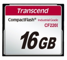 Transcend Compact Flash Card - Industrial series 16 Gb TS16GCF220I