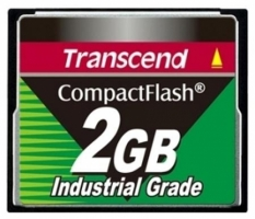 Transcend Compact Flash Card - Industrial series 2Gb TS2GCF200I