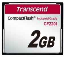 Transcend Compact Flash Card - Industrial series 2Gb TS2GCF220I